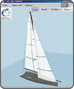 SailPack Viewer - Sail Design marketing tool